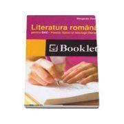 Literatura romana pentru BAC. Poezia. Epoci si ideologii literare - Margareta Onofrei