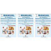 Manual de tehnica a masajului terapeutic si kinetoterapia complementara. Volumele I, II si III editia a XXXIV-a - Anghel Diaconu