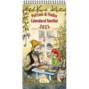 Pettson si Findus. Calendarul Familiei 2021 - Sven Nordqvist