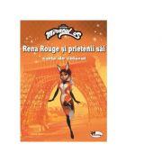 Rena Rouge si prietenii sai. Carte de colorat