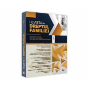Revista de Dreptul Familiei nr. 1/2020