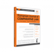 Romanian Journal of Comparative Law nr. 1/2020 - Manuel Gutan