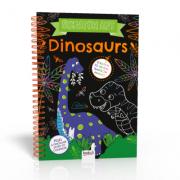 Scratch Art. Dinosaurs