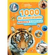 1000 de autocolante. Animale fioroase. Carte de activitati