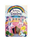 Colorez unicorni. Set pentru desen - Brijbasi