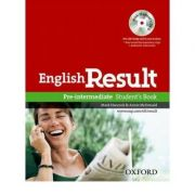 English Result Pre-Intermediate Students Book with DVD Pack - Mark Hancock