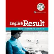 English Result Upper-Intermediate Workbook with Answer Booklet and MultiROM Pack - Mark Hancock