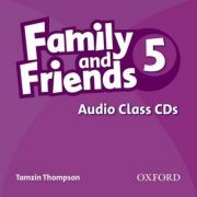 Family and Friends American Edition 5 Class CD (3) - Tamzin Thompson