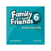 Family and Friends American Edition 6 Class CD (3) - Jenny Quintana