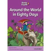 Family and Friends Readers 5 Around the World in Eighty Days - Tamzin Thompson