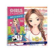 Girls fashion. Carte cu activitati - Brijbasi