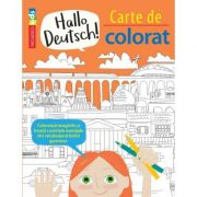 Hallo Deutsch! Carte de colorat - Sam Hutchinson, Emilie Martin