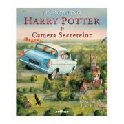 Harry Potter si Camera Secretelor, editie ilustrata - J. K. Rowling