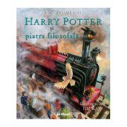 Harry Potter si piatra filosofala. Ilustrat - J. K. Rowling