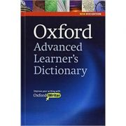 Oxford Advanced Learners Dictionary, Hardback with CD-ROM (includes Oxford iWriter). Editia a VIII-a - Jo Turnbull