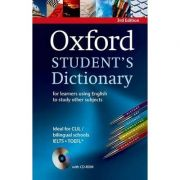 Oxford Students Dictionary 3rd Edition (for learners using English to study other subjects). Paperback with CD-ROM