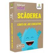 Scaderea. EduCard initiat. Carti de joc educative