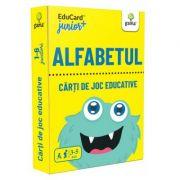 Alfabetul. EduCard Junior plus. Carti de joc educative