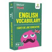 English Vocabulary. EduCard expert. Carti de joc educative