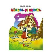 Hansel si Gretel. Carte de colorat 3