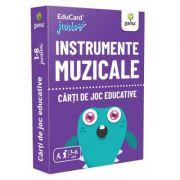 Instrumente muzicale. EduCard Junior plus. Carti de joc educative