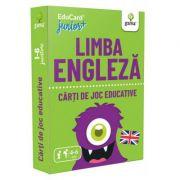 Limba engleza. EduCard Junior plus. Carti de joc educative