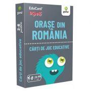 Orase din Romania. EduCard expert. Carti de joc educative