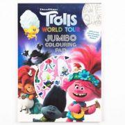 Trolls 2 Jumbo - Set de colorat