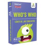 Who's Who. EduCard expert. Carti de joc educative
