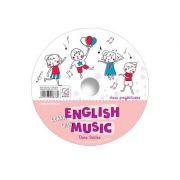 CD pentru Learn English with music – caiet de lucru pentru clasa pregatitoare - Elena Sticlea