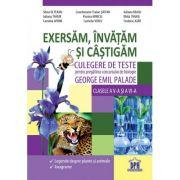 Culegere de teste pentru pregatirea concursului de biologie George Emil Palade, Exersam, invatam si castigam, Clasele V-VI