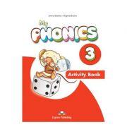 Curs limba engleza My Phonics 3 Caietul elevului cu cross-platform app. - Jenny Dooley, Virginia Evans