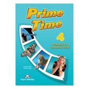 Curs limba engleza Prime Time 4 Caiet si gramatica cu digibook app. - Virginia Evans