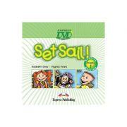 Curs limba engleza Set Sail 1 DVD - Elizabeth Gray, Virginia Evans