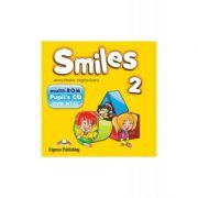 Curs Limba Engleza Smiles 2 Multi-Rom - Jenny Dooley, Virginia Evans