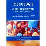 Imunologie-curs universitar pentru studentii anului III - Ileana Constantinescu, Ana Moise