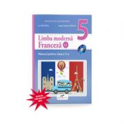 Limba Franceza, limba moderna 2, manual pentru clasa a V-a. Contine editia digitala - Ion Farcasanu, Angela-Gabriela Lapadatu