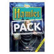 Literatura adaptata pentru copii Hamlet Carte + CD - Virginia Evans