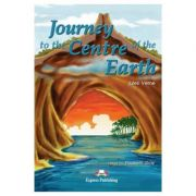 Literatura adaptata pentru copii Journey to the Centre of the Earth Set cu Multi-ROM si caiet de activitati - Elizabeth Gray