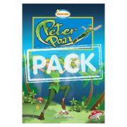 Literatura adaptata pentru copii Peter Pan cu MULTI-ROM - Virginia Evans