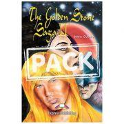 Literatura adaptata pentru copii The Golden Stone Saga II Pachetul elevului - Jenny Dooley