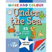 Make & Colour. Under the Sea - Clare Beaton