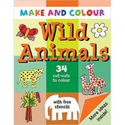 Make and Colour Wild Animals - Clare Beaton