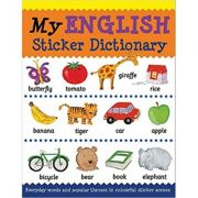 My English Sticker Dictionary (Language Sticker Books) - Catherine Bruzzone, Louise Millar