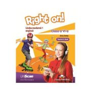 Right on! Limba moderna 1 Limba engleza Clasa a VI-a Manual profesor - Jenny Dooley