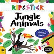 Rip & Stick. Jungle Animals - Sam Hutchinson, Sarah Dennis