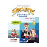 Spark. Limba moderna 2 Engleza. Clasa a V-a Manual profesor - Jenny Dooley