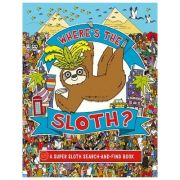 Where's the Sloth? A Super Sloth Search-and-Find Book - Andy Rowland