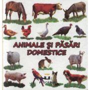 Animale si pasari domestice (editie cartonata) - Toma Costinel Daniel