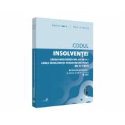 Codul insolventei. Legea insolventei nr. 85/2014 si Legea insolventei persoanelor fizice nr. 151/2015: martie 2021. Editie tiparita pe hartie alba